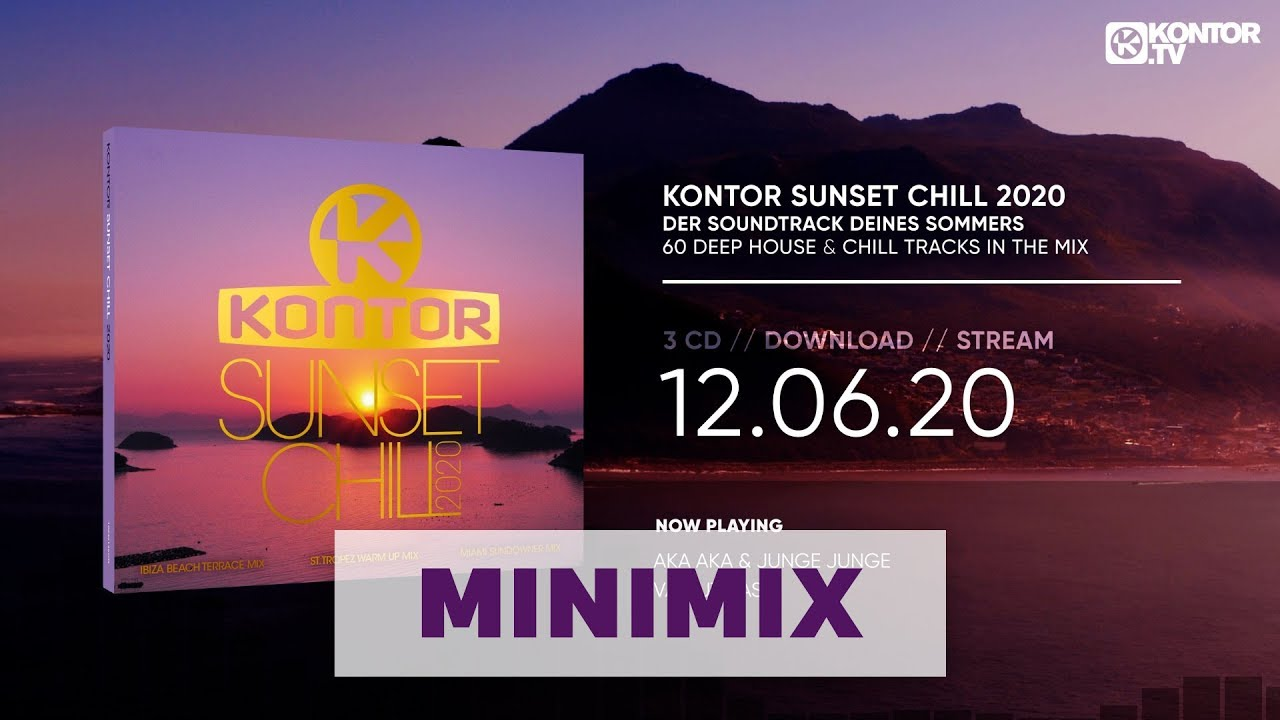 Kontor Sunset Chill 2020 (Official Minimix HD)